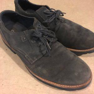 Worn Suede Rockport boots